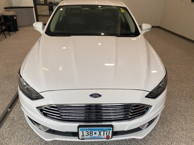 Used 2017 Ford Fusion SE with VIN 3FA6P0HDXHR398851 for sale in Hallock, Minnesota