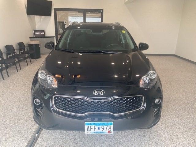 Used 2018 Kia Sportage LX with VIN KNDPMCAC1J7360125 for sale in Hallock, Minnesota